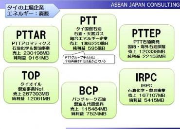 2010年タイ上場企業不動産と資源編