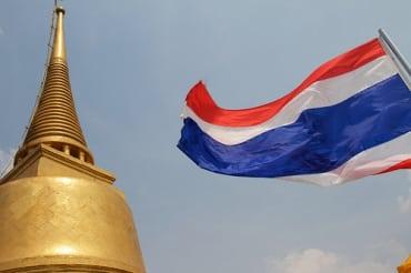 タイへの観光旅行者は安定して増加傾向