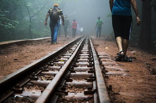 タイのホアヒン~プラチュアップキーリーカン県をつなぐ複線化建設
